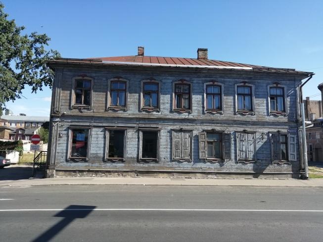 es ist ein großer Aufwand die alten Holzhäuser zu erhalten