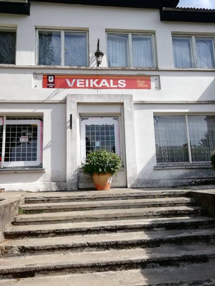 """Veikals heißt """"Shop"""". Nicht jedes Dorf hat einen ..."""
