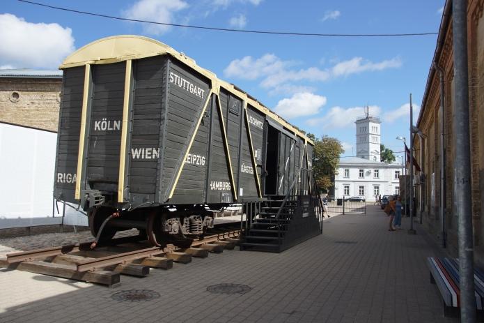 Waggon Gedenkstätte Riga